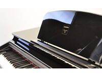 Hemingway DP501 digital piano High Gloss Black - elegant looks and high specs. FREE DELIVERY