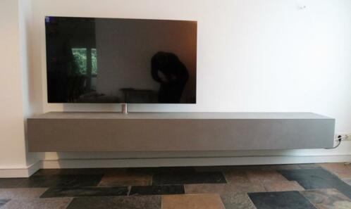 Zwevend Hoogglans Zwart Tv Meubel Flame 1 Lowboard Tv Kast.Zwevend Tv Meubel Alpha Superlowboard Op Maat 13 Kasten