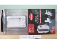 HAHNEL ULTIMA PLUS FAST LI-ON BATTERY CHARGER FOR CANON