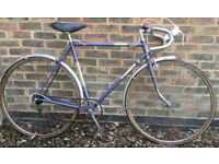57cm Vintage racer Raleigh Carlton road race racing bike bicycle