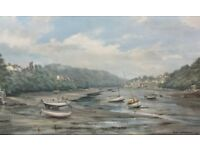 Stunning Signed Robin Goodwin Giclee - Beautiful Sea Side - Framed