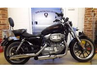 FANTASTIC 2013 HARLEY DAVIDSON XL883L SUPERLOW MANY EXTRAS NOW £5495
