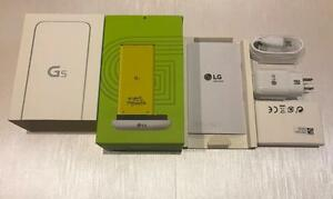 LG G5 BOX WITH ACCESSORIES - NEW