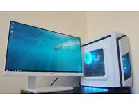 Computer & Monitor & i5 6400 & GTX 950 & RGB LED & Windows 10