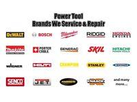 Power tool and generator repairs