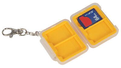 Bilora Memory Card Safe SD für 4 SD-cards Mini Case Speicherkarten Schutzbox
