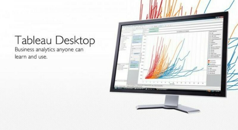 Tableau Desktop Professional 2019 2 PC License Region Free- End of Year SALE