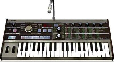 KORG analog synthesizer vocoder microKORG battery or AC Plug-in W/ Microphone