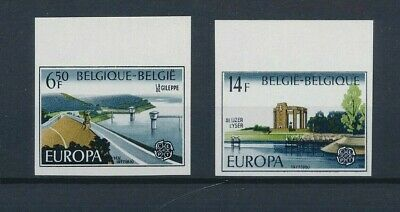 Belgium**EUROPA CEPT 1977-IMPERFORATE-Cat 100€-ONGETAND-NONDENTELE-MNH