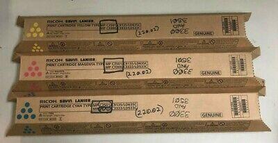 3 Ricohsavinlanier Print Cartridge C3501c9135ld635c Yellowcyanmagenta