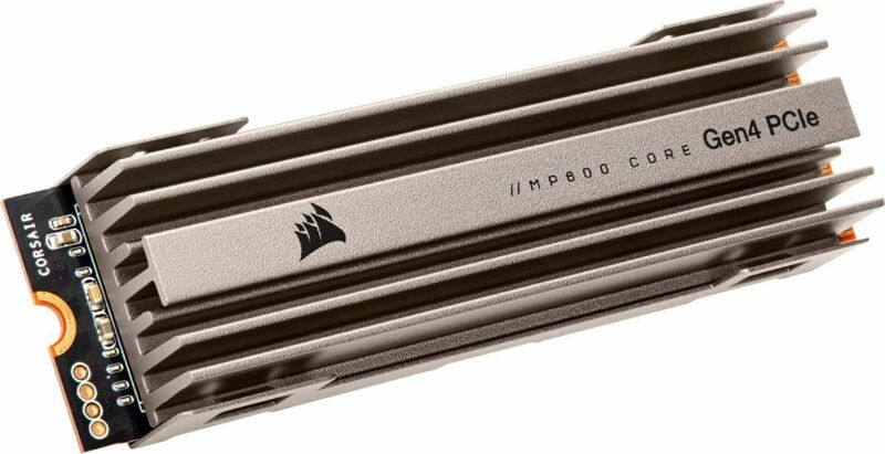 CORSAIR - MP600 CORE 2TB M.2 NVMe PCIe Gen. 4 x4 SSD