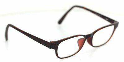 JINS FRD-15A-017A 186 Brille Braun gemustert glasses FASSUNG J!NS (Jins Brille)