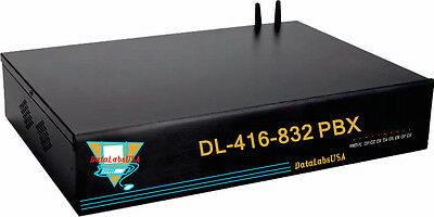 Small Hotel Motel Dl-416 Datalabs Pbx Pabx Auto Attendant Phone System W Pa Out