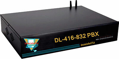 Hotel Dl-424-832 Datalabsusa Pbx Pabx Auto Attendant Phone System W Pa Line Out