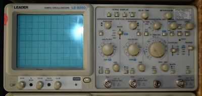 Leader Ls8050 Dual Time Base Delayed Sweep Oscilloscope