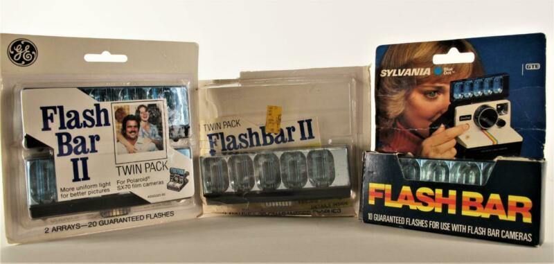 Flash Bars II for Polaroid SX-70 Cameras