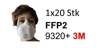 9320+ FFP2 Maske 3M™ Aura™ Atemschutzmaske 9320+, FFP2 20Stk