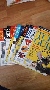 Tool Guides! Several years $20