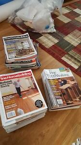 70+ Fine HomeBuilding and Homeowner Magazines! $50 obo