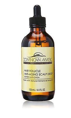 Dominican Magic Hair Follicle Anti-Aging Scalp Drop 4.4 fl oz /125 ml New In Box