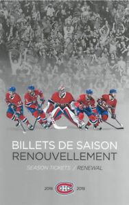 90 X BILLETS TICKETS CANADIENS MONTREAL GRIS A ! CENTRAL