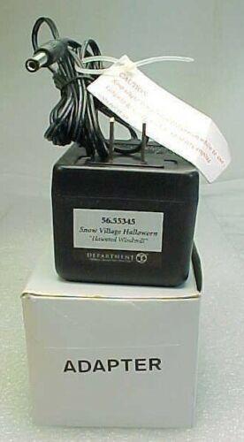 Dept 56 Light Accessory - AC/DC Adapter #56.55345 Black  6
