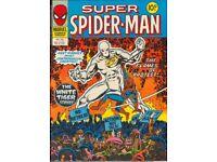 Super Spiderman by Marvel #263 VF British Weekly Comic (1978)
