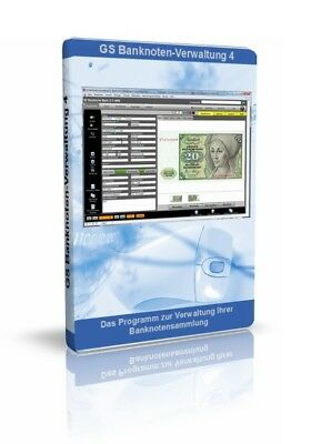 ung 4 -Software Programm für Sammler von Papiergeld (Programm Papier)