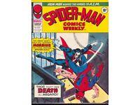 SPIDERMAN BRITISH WEEKLY #139 NM comic (1975)