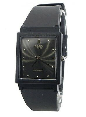 Casio MQ38-1A Mens Black Dial Classic Resin Casual Watch New Warranty