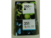 HP 350XL &351 inkjet printer cartridge