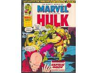 Mighty World of Marvel : Hulk #165 VF British Weekly Comic (1975)