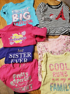 Gently used infant girls clothing. - Priced to sell!