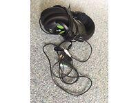 Turtle Beach Earforce X12 Wired Gaming Headphones Xbox 360