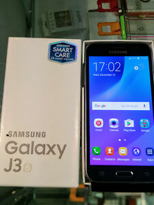 Samsung Galaxy J3 Unlocked Brand New  -4 weeks Warranty