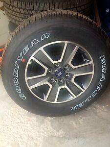 Ensemble de roues (mags) et pneus 18 pouces