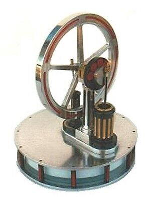 Miser Low Temp. Stirling Cycle Engine Plans
