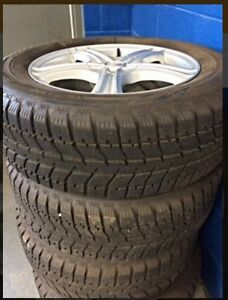 WINTER TIRES/RIMS (Chev.)