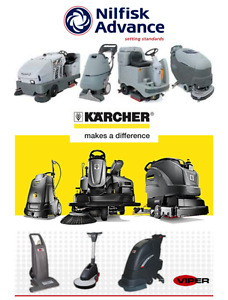 LEASE to own a NEW autoscrubber floor machine vacuum etc..