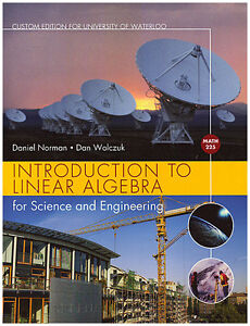 INTRODUCTION TO LINEAR ALGEBRA FOR SCIENCE AND ENGINEERING (MATH