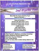 Vendors / Readers Wanted Psychic Fair St Thomas Jan 29 wknd
