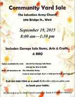 Community Yard and Craft Sale