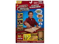 Children's Construction Kit Like Real Wood Saw it Nail it and Drill New in Box