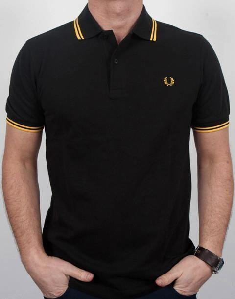 Fred Perry Polo Schwarz