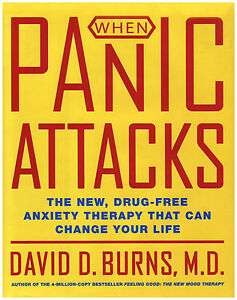 WHEN PANIC ATTACKS: The New Drug-Free Anxiety Therapy by Burns