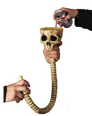 Halloween Drinking Game (Beer Bong, Funnel, SKULL, HALLOWEEN Party, CHRISTMAS, Adult Only, Drinking)