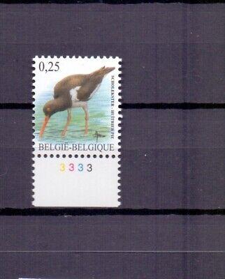 BELGIUM 2002 OYSTER CATCHER BUZIN BIRD plate 3  MNH**  3087PL3