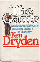 THE GAME SIGNED by Ken Dryden, Rick Vaive, Brad Park, Bower, Don