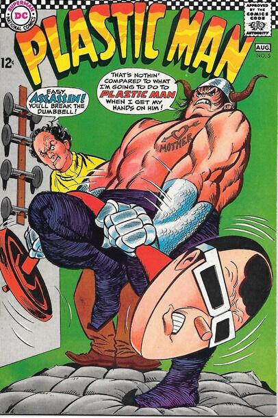 Plastic Man Comic Book #5, DC Comics 1967 VERY FINE