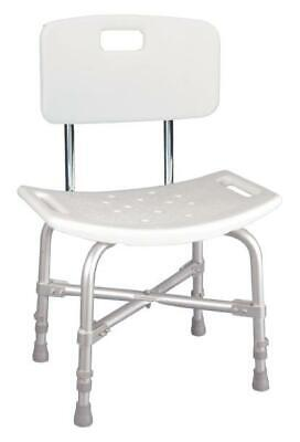 Drive Medical design deluxe Bariatric Bath Bench Shower Tub Chair Seat with Back Deluxe Bariatric Bath Bench